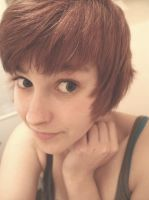 New Hair Cut by Fadedhowl
