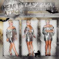+Lady Gaga|Pack Png by Heart-Attack-Png