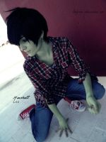 Adventure Time Cosplay: Marshall Lee 01 by LadyNoa