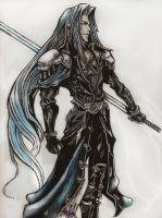Sephiroth by MyaWho