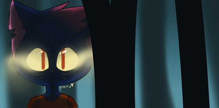 Mae - Night in The Woods by FeatherStar8000