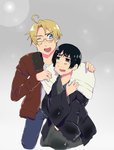 APH: Hold on there, bud. by MewCherrii