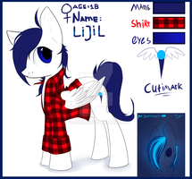 Reference of MY OC by PFJerk