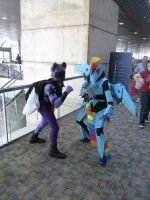 Twilight Sparkle and Rainbow Dash (Bronycon 2014) by Lucy0566