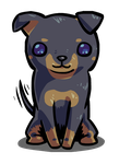 Manchester Terrier by Foxelbox