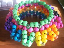 Rainbow cuff by Mau5doll