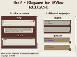 Buuf-Elegance for IEView v1.01 by Gafti