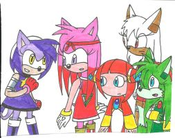 Sonic TNG: Girl Power by cmara