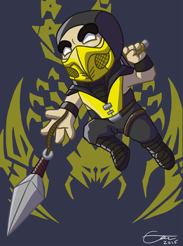 Scorpion by EmuToons