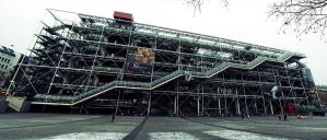Centre Georges Pompidou by cHeeunIT890