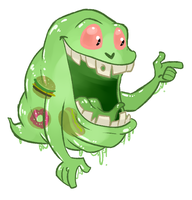 Slimer by itsaaudra
