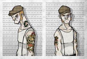 Mugshot Serie Vol VII by paulorocker