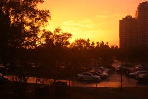 Ateneo Sunset by thedismantled