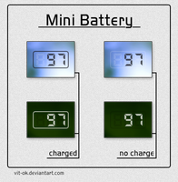 Mini Battery by Vit-Ok