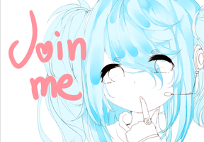 Skype personified  JOIN.ME by HokiMaru