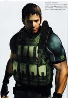 Chris RE6 Extra Costume 1 by Sparrow-Leon
