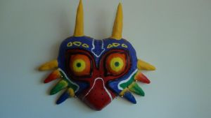 Clay Majora's Mask by Crowbariswin
