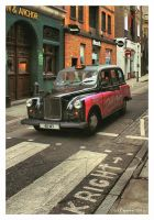 London Cab by Pajunen