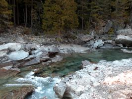 Avalanche Creek 6 stock by rocamia-stock