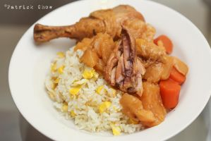 Chicken curry rice by patchow