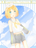 Kagamine Rin by Chi-Colate