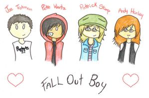 Everyone Loves A Fall Out Boy by southpark903
