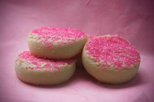 pink sprinkle cookies 2 by purp0l