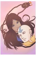 Katara + Aang: Slow Me Down by AnimantX