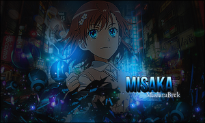 [Signature] Misaka by MadaraBrek