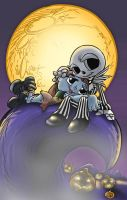 Nightmare before Christmas by scatteredcomics