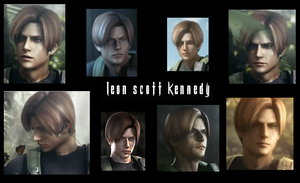Leon Scott Kennedy ~ Operation Javier Collage by lsk1977