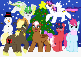 MLP: FiM Next Generation Christmas by kakeru-higurashi