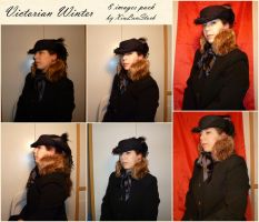 Victorian Winter Portrait Stock Pack by XiuLanStock
