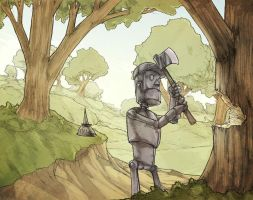 N.C. - the tin man by facelesscow
