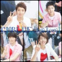 CNBLUE PEACE SIGNS by kheyar0320
