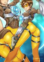 Tracer - Overwatch by Redjet by Redjet00