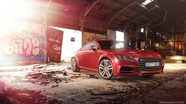 Audi TTS | Full CGI | Personal 3D work by Splicer436
