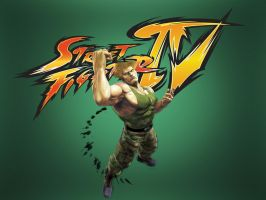 Guile - SF IV by khotebabu