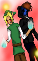 Ben And Jack Duo for ~SUCHanARTIST13 by AlinaTheKiller