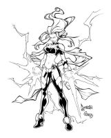 Storm by NeMAfronSPAiN inked by gz12wk
