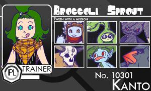 Trainer-Broccoli Sprout by Pokemon-League