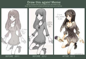 redraw meme (2011-2013) by Miivei