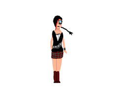 Devils Greatness outfit for me singing live! by ilovesilenthill