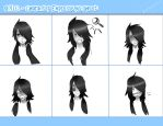 Akirash expressions sheet - for OYIC by Niza-ninja