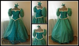 Mermaid Ballgown by Durnesque