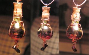 Magic Vial - Protection again by Izile