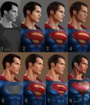 Henry Cavill as Superman in Batman v Superman by daniel-morpheus