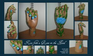 Kiss from a Rose on a Hand by Nethilia
