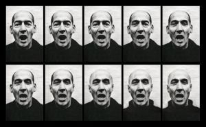 Rem Koolhaas - Brian Eno by HappyFreak
