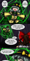 Touhou( x Undertale) Comics: LOVE by aimturein